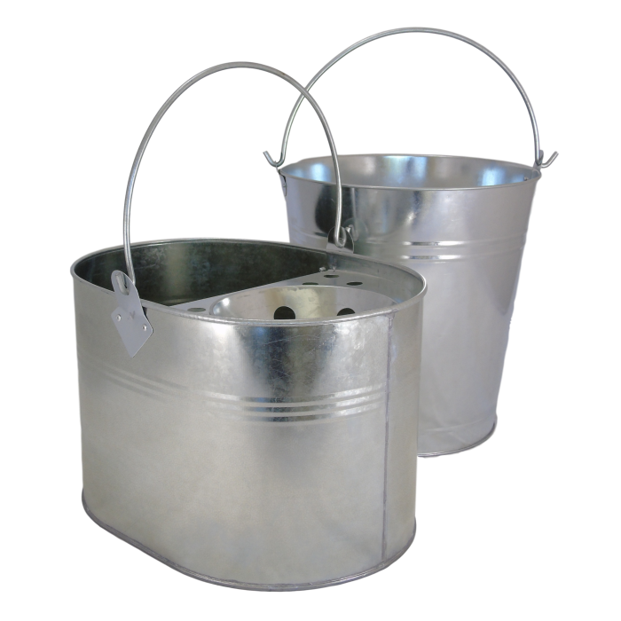 General purpose bucket and mop bucket