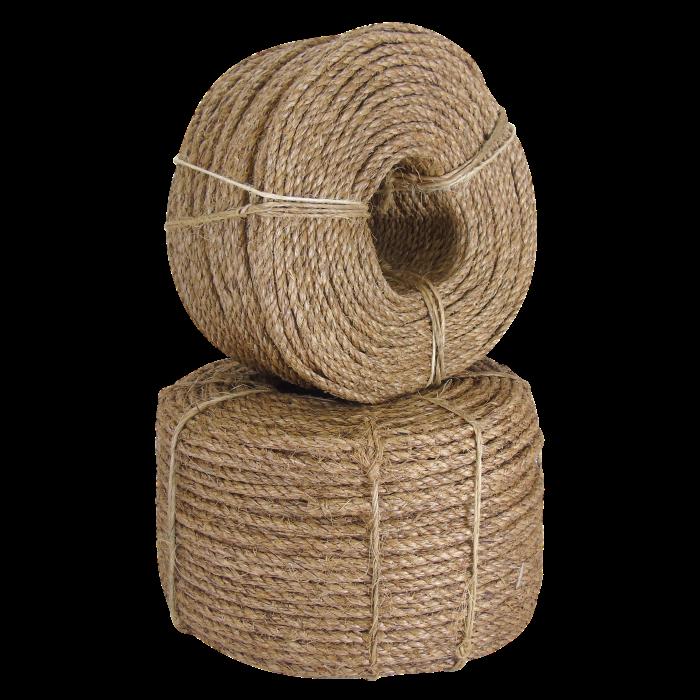 Selection of manila ropes
