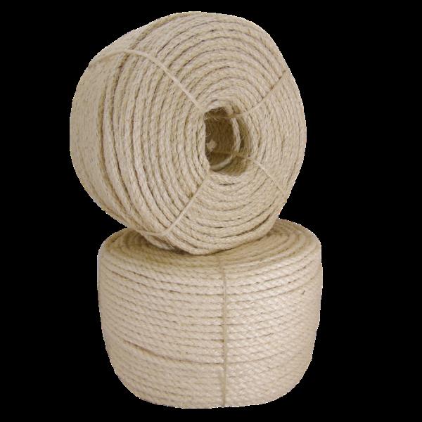 Selection of natural sisal ropes