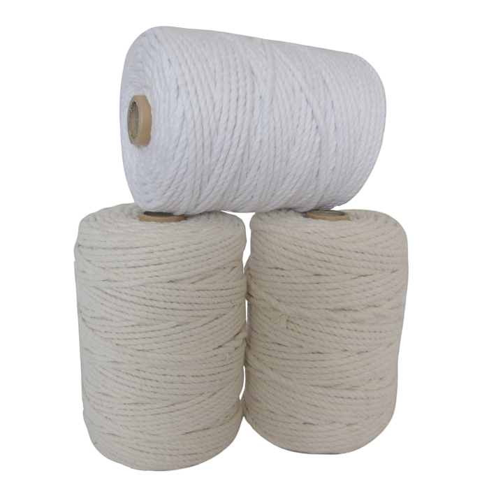 A selection of natural and bleached piping cords